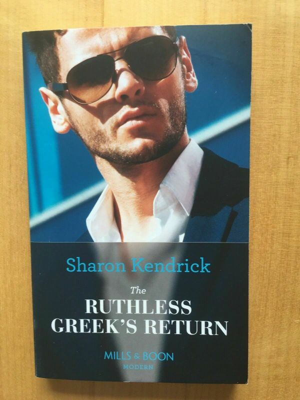 MILLS & BOON - THE RUTHLESS GREEK'S RETURN (2018) USED